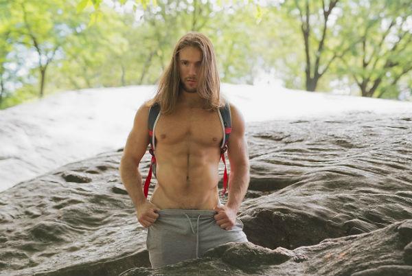 Zack Thomas Shirtless by Jade Young