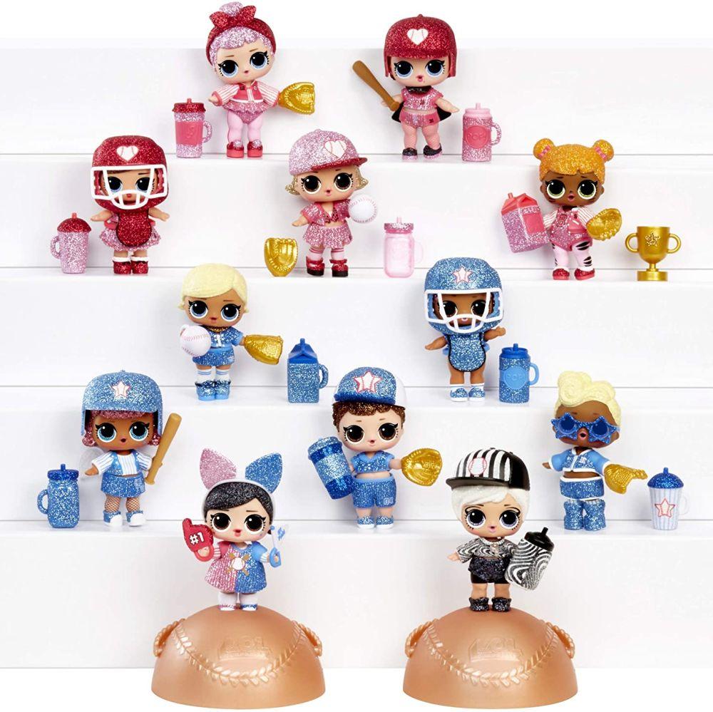 Имена всех кукол L.O.L. Surprise All-Star B.B.s 2020