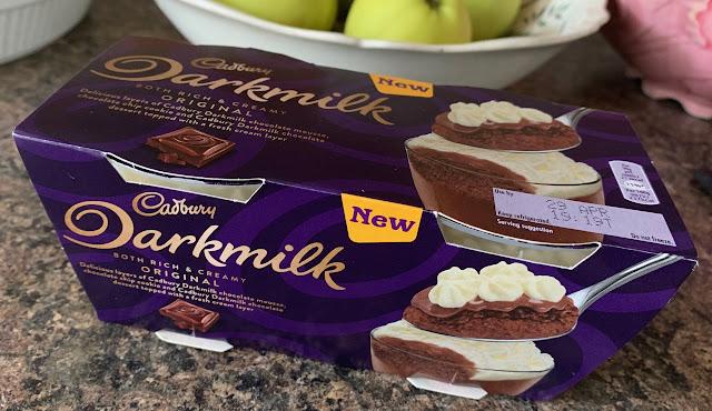 Cadbury Darkmilk Dessert