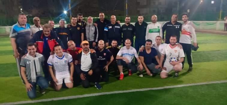 قدامي نجوم حوش عيسى يشاركون في  افتتاح دوري رابطة الرياضيين  بمشاركة 12 فريقا.. الأطباء تقسو على الصيادلة