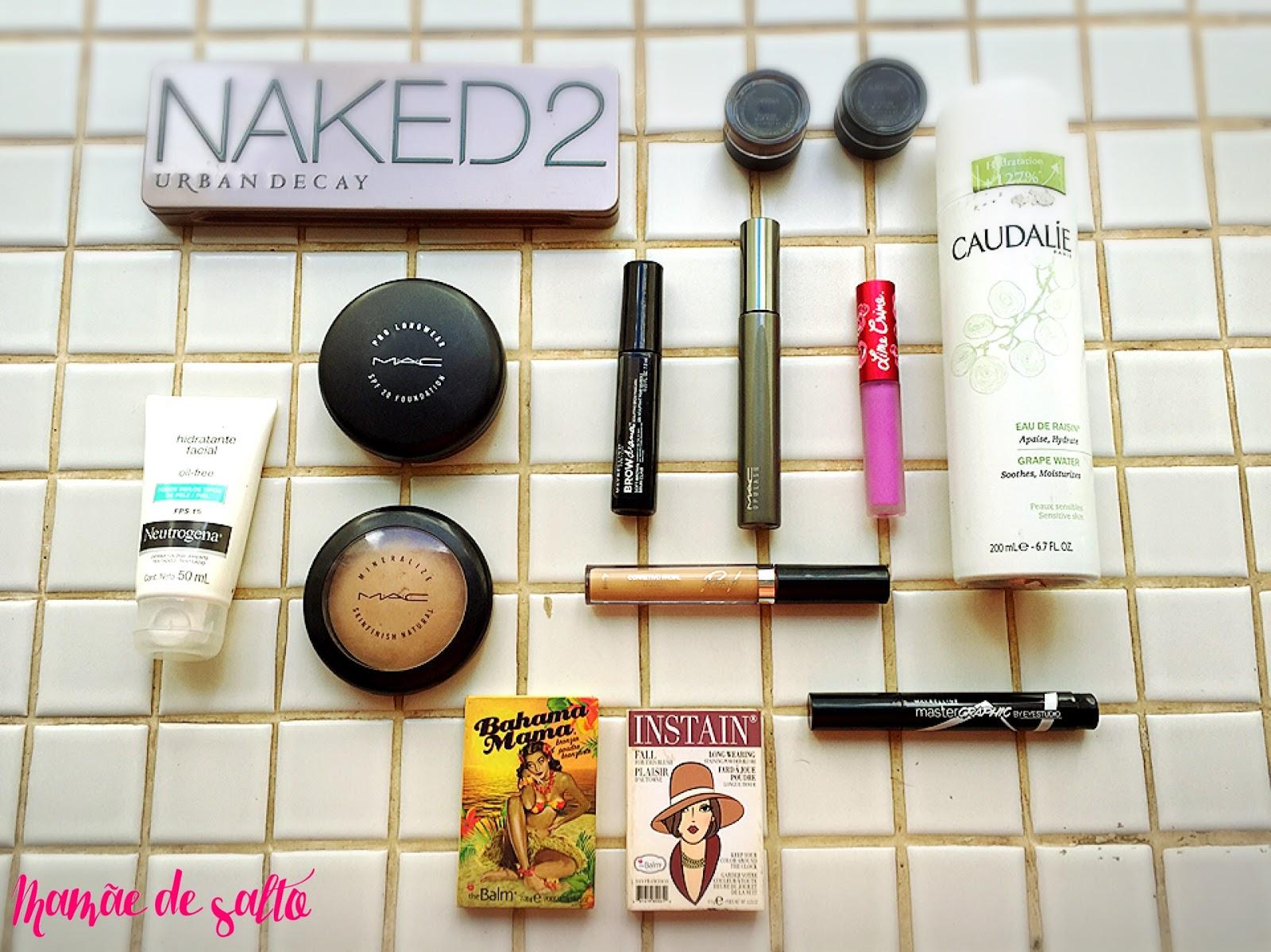 kit básico de maquiagem tem que ter ... blog Mamãe de Salto