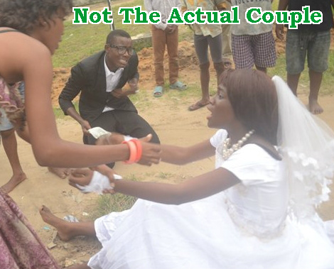 woman abandoned husband wedding day delta state