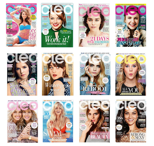 CLEO Last Cover - Jestina Campbell australian magazine covers diversity