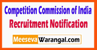 CCI Competition Commission of India Recruitment Notification 2017 Last Date 17-07-2017