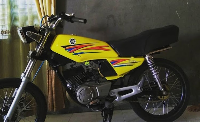 Modifikasi Rx King Warna Kuning Original Emas Polos Lemon Dan
