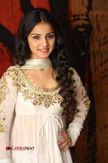 Telugu Actress Mahima Makwana Stills in White Desginer Dress at Venkatapuram Movie Logo Launch  0005.JPG