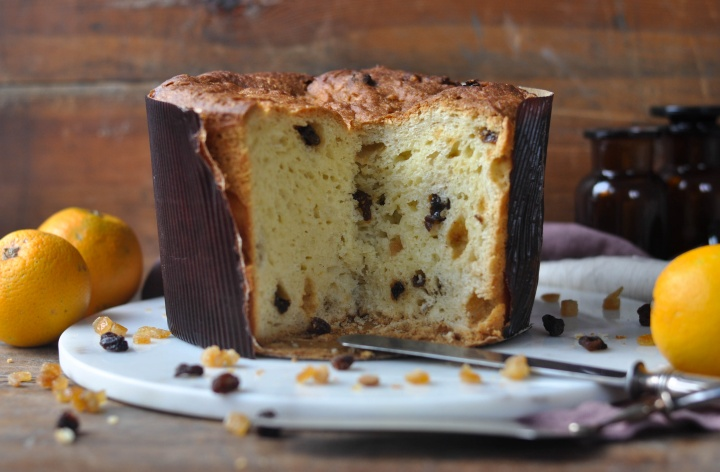 delicious Panettone tradizionale, glutenfree and full of flavour