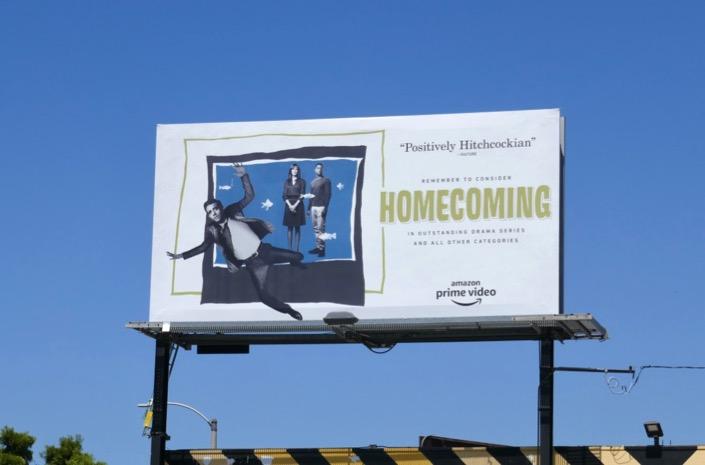 Homecoming 2019 Emmy FYC billboard
