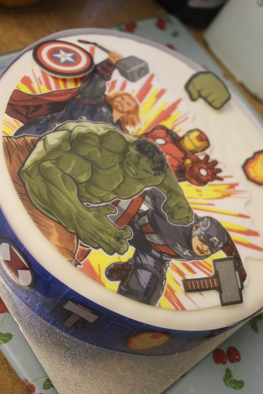 Marvel Birthday Cake Sainsbury
