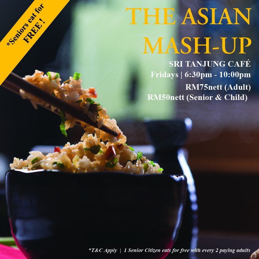 The Asian Mash-Up with Delicacies from All Over Asia At Royale Chulan Penang