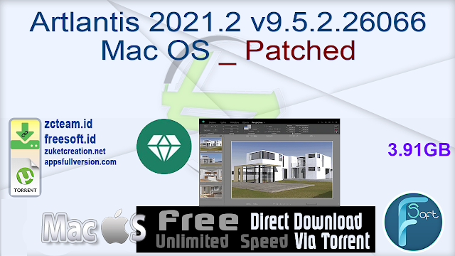Artlantis 2021.2 v9.5.2.26066 Mac OS _ Patched