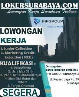 Lowongan Kerja Surabaya Terbaru di FIFGroup Mei 2019