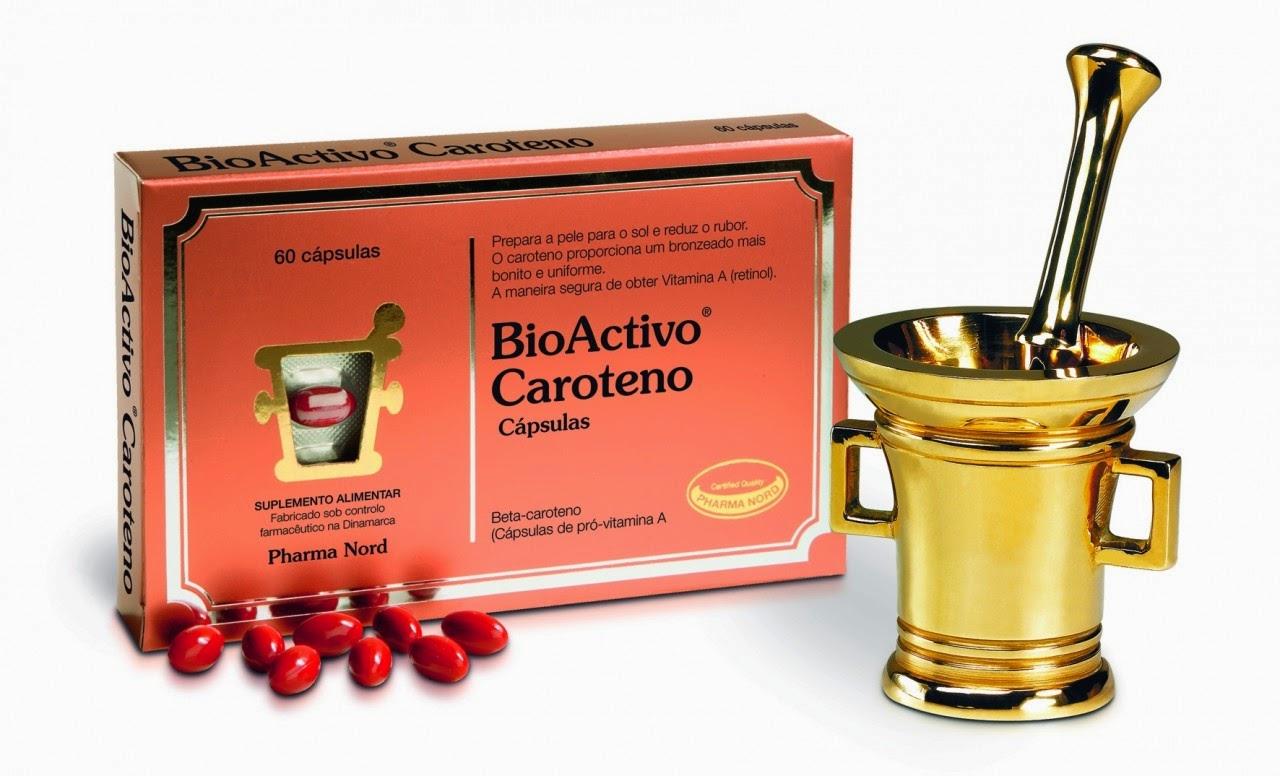 BioActivo caroteno: um bronzeado mais rápido e mais saudável!