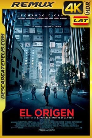 El origen (2010) 4k BDRemux HDR  Latino – Ingles