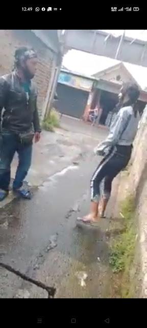 Detik-detik Suami Tusuk Istri Usai Cekcok di Pinggir Jalan Bandung