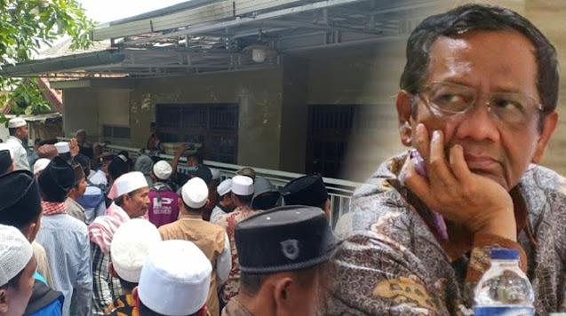 Viral Warga Madura Geruduk Rumah Mahfud MD, Tidak Terima Pemanggilan Habib Rizieq