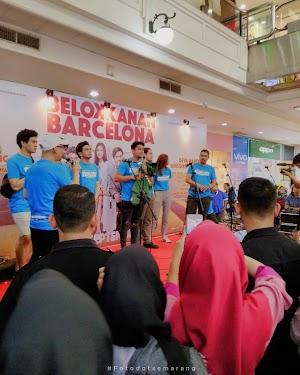 Roadshow Film Belok Kanan Barcelona di Semarang