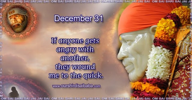 My Sai Blessings - Daily Blessing Messages-Shirdi Sai Baba Today Message 31-12-19