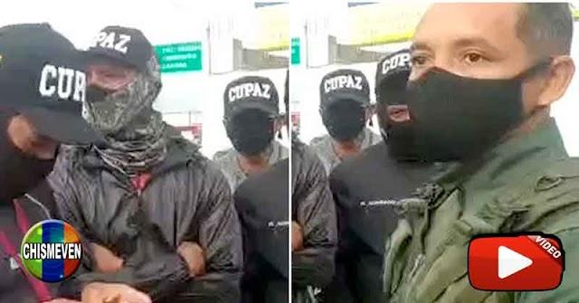 QUÉ BOCHORNO   CUPAZ y GNB discuten por el control de una bomba de gasolina