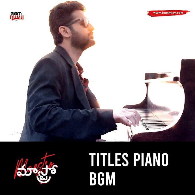 Maestro Titles BGM Download HD - Maestro BGMs Download HD