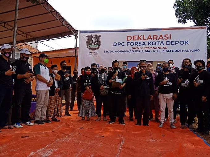 Forsa Totalitas Dukung Paslon Idris-Imam