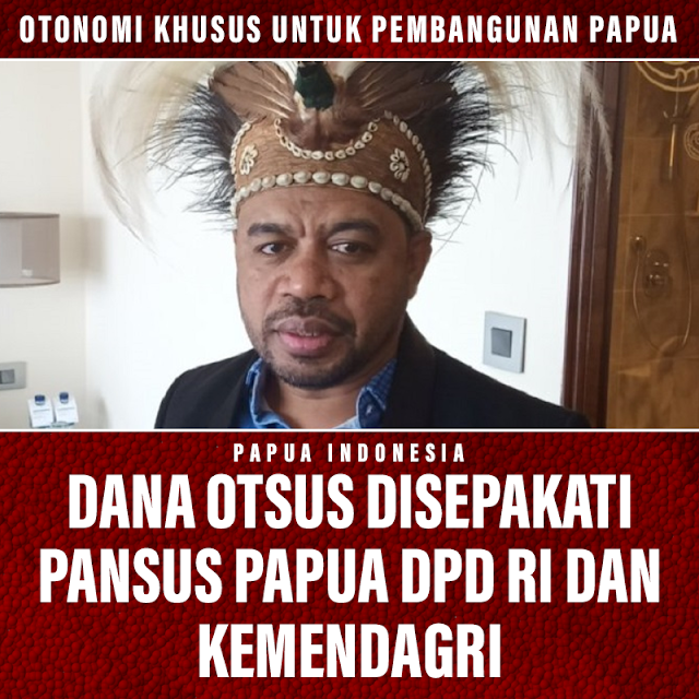 Dana Otsus Papua Disepakati Pansus Papua, DPR RI dan Kemendagri