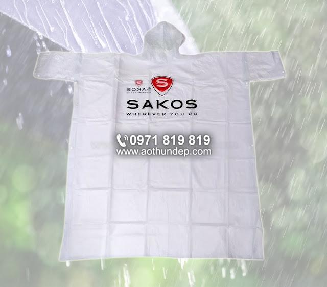 in áo mưa