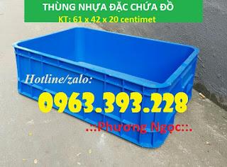 Thùng nhựa đặc B1, thùng nhựa cao 20, hộp nhựa cơ khí 31eeeee8b21b5045090a