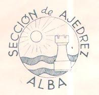 Escudo de la Sección de Ajedrez Alba