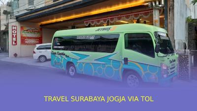 Travel Surabaya Jogja via Tol WA: 081804220311