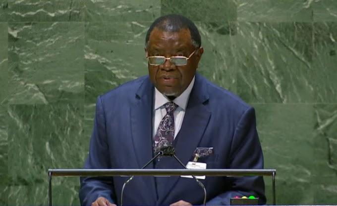 """Presidente de Namibia en ONU: """"Han pasado 50 años y el pueblo saharaui sigue esperando su independencia""""."""