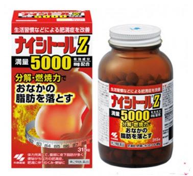 Viên uống nhật bản Naishitoru Z - xóa tan nỗi lo mỡ bụng