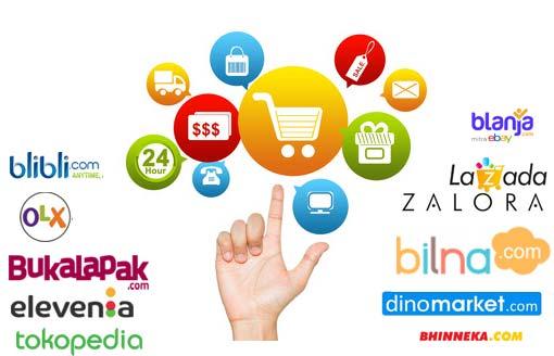 kelebihan kekurangan market place, website jual beli
