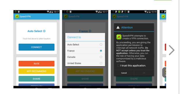 أفضل 4 تطبيقات الـ VPN المجانية و القوية لأجهزة الأندرويد