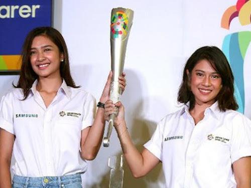 Kirab obor Asian Games 2018 di Bandung