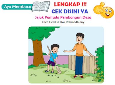 Kunci Jawaban Kelas 6 Tema 9 Ayo Membaca Jejak Pemuda Pembangun Desa www.simplenews.me