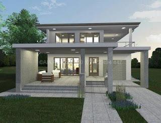 Proiecte de casa parter cu etaj