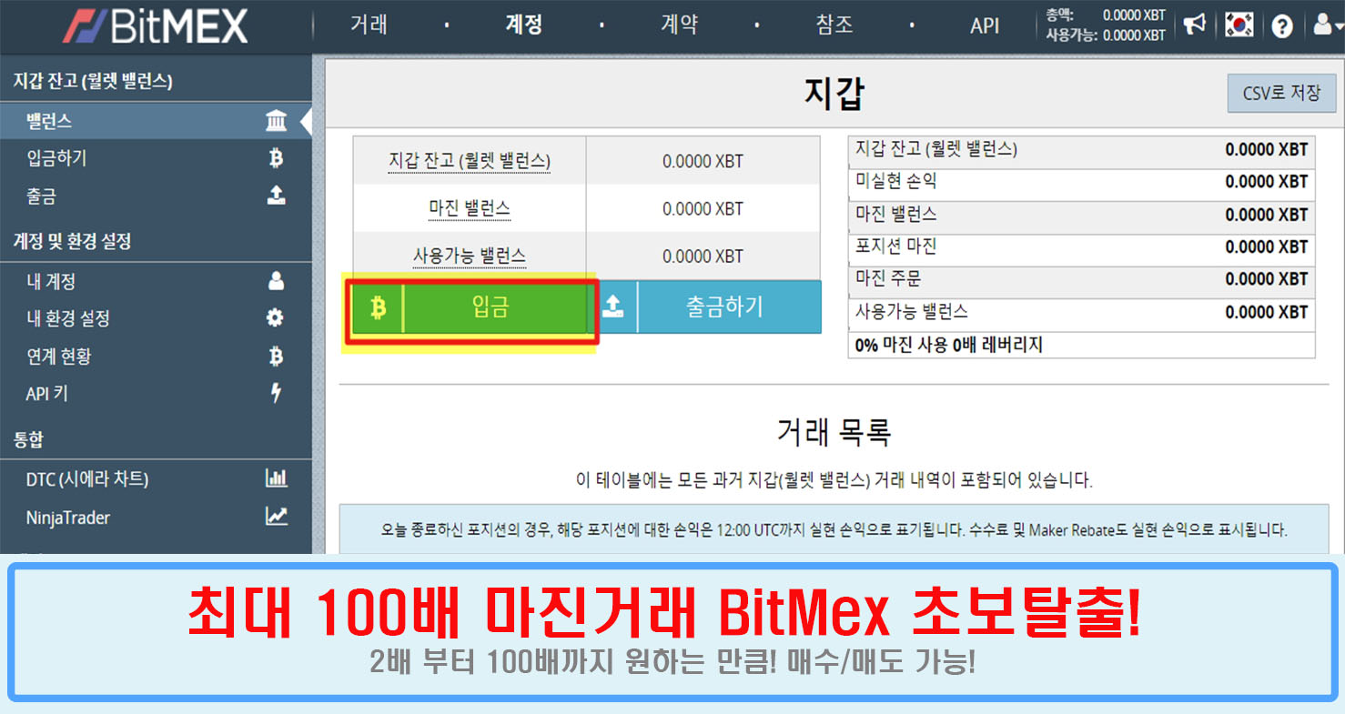 비트맥스 BitMex 마진거래 가입부터 수익내는 노하우 방법들