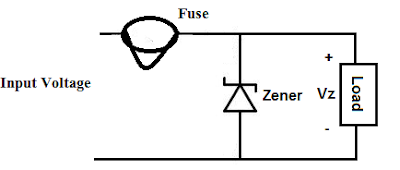 Zener Diode As Over Voltage Protector