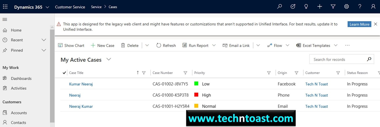 How to Customize entity views in Dynamics 365