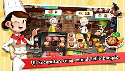 Game Memasak Makanan Korea - Cooking Adventure