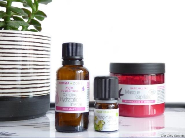 cosmétique maison base neutre capillaire aroma zone