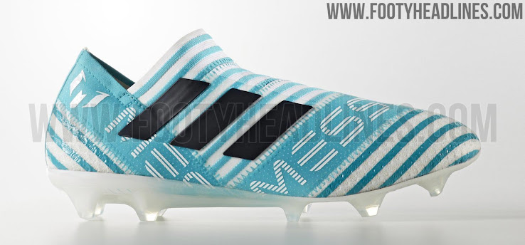 1eb1422ad704 Actual Adidas Nemeziz Messi 17+ 360Agility Ocean Storm Signature Boots