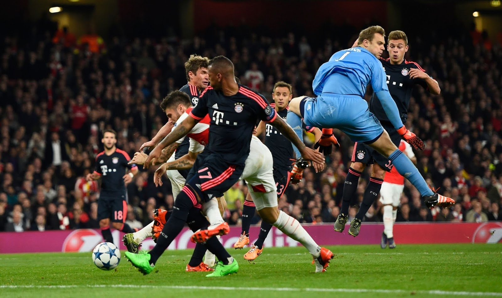 arsenal vs bayern - HD 1600×951