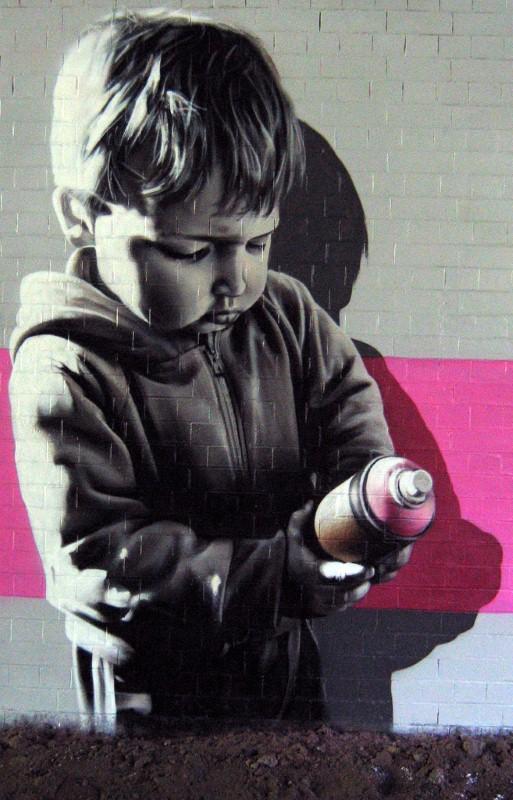 SmugOne - рисунки на стенах 9
