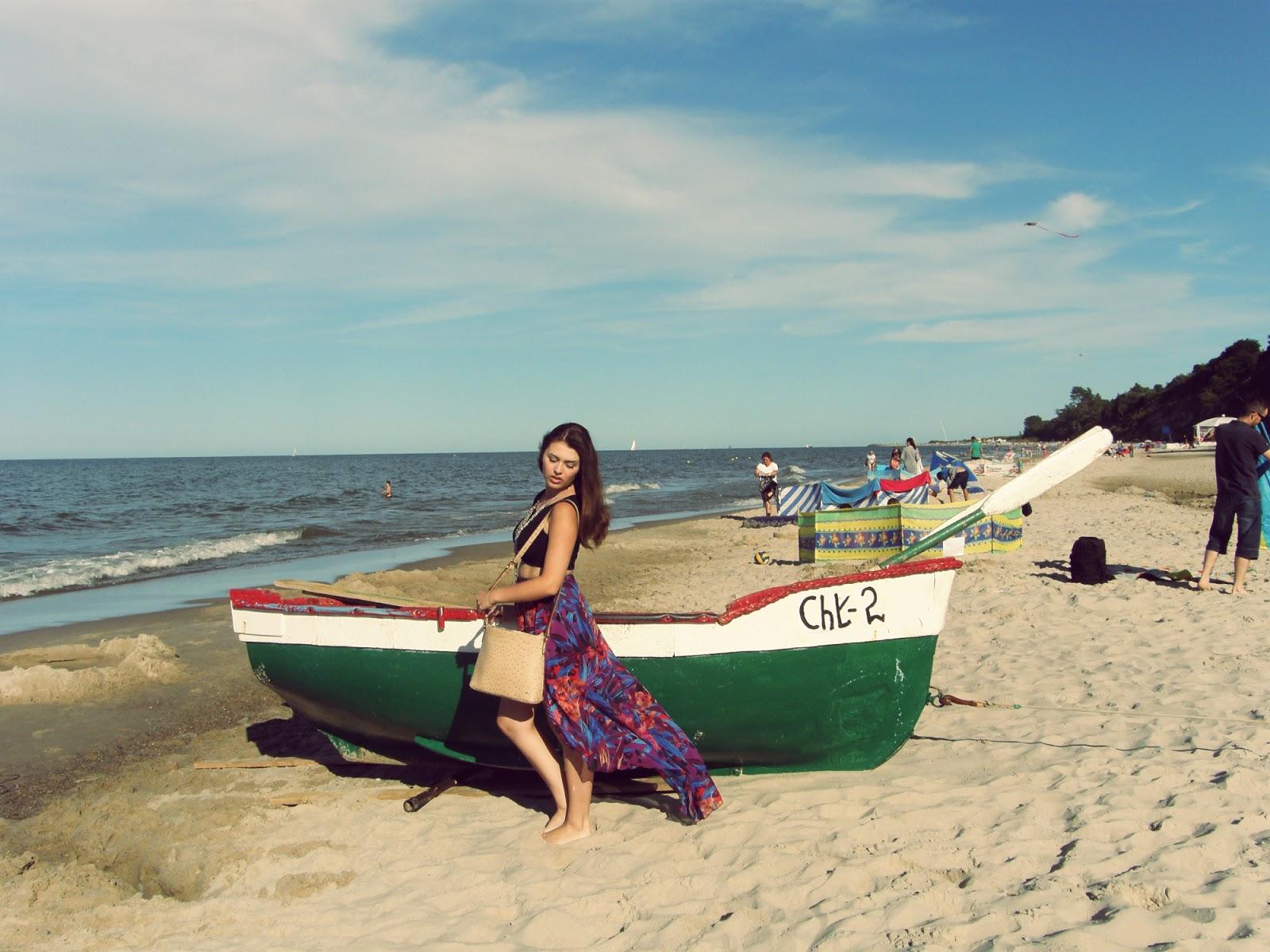 Wakacje nad morzem Chlapowo. Jak sie ubrac na plaze? DAY 2