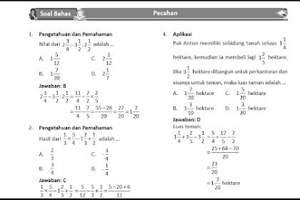 Pembahasan Soal UN Matematika SMP 2019