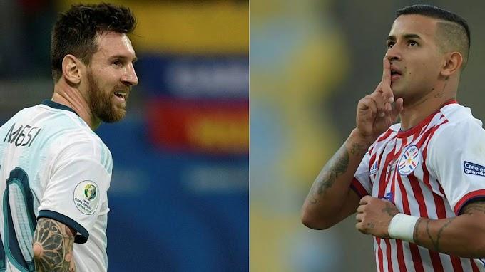 watch matche Argentina vs Paraguay live stream free