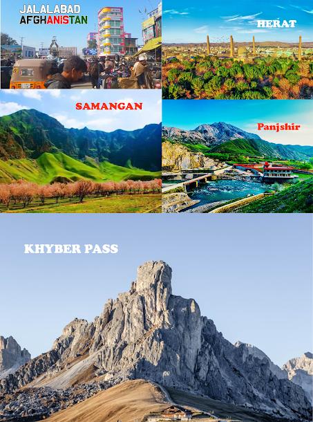 Khyber pass,samanghan,jalalabad,panjshir