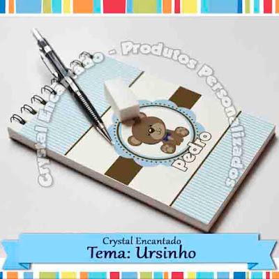 Personalizados Ursinho Marrom